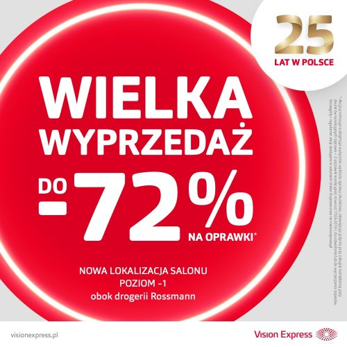 -72% w Vision Express!