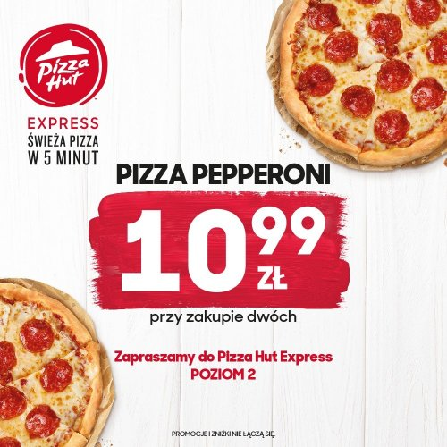 Pizza Pepperoni za 10,99 zł*